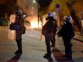 В Греции произошли столкновения из-за лагеря для мигрантов