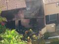 В США на дом рухнул легкомоторный самолет