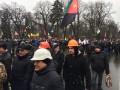 Около тысячи шахтеров пикетируют правительственные здания