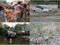 Потоп, град, побитые машины и безумство красок: Непогода в Одессе 2 июля
