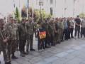 Под АП экс-бойцы добробатов требуют встречи с Зеленским