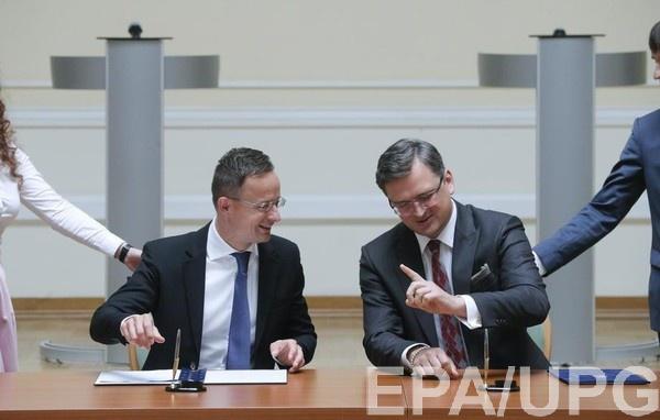 Главы МИД Украины и Венгрии снова готовы к конструктивному диалогу