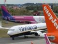 За две недели Wizz Air отменил 50 вылетов из Киева