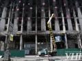 В Киеве начали ремонт Дома профсоюзов