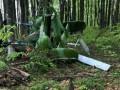 На украинско-румынской границе найден разбитый вертолет