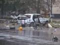 В Сумской области взорвали два автомобиля и обстреляли военкомат (фото)