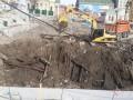 В Киеве на месте обнаруженной археологами улицы времен Киевской Руси выкапывают котлован