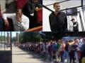 День в фото: подозреваемые в убийстве Бузины и похороны Фриске