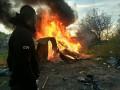 Националисты сожгли цыганский табор в Киеве