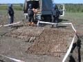 В Днепропетровской области пиротехники уничтожили 628 снарядов времен Второй мировой
