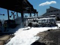 Под Одессой взорвался бензовоз и загорелась нефтебаза