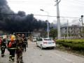 В Китае на фабрике произошел взрыв