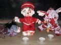 Под храмами УПЦ МП оставляют окровавленные игрушки