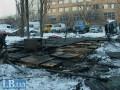 В киевском пункте обогрева сгорел человек