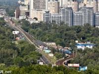 В Киеве станцию метро Левобережная закрыли на вход