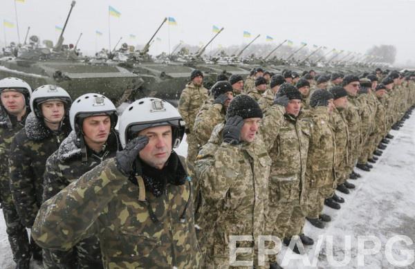 Военослужащим ВСУ нехватает теплой одежды