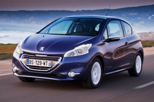 Новый Peugeot 208 вышел сразу на пятое место