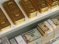 Нацбанк уменьшает долю золота в резервах