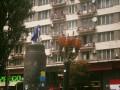 В центре Киева вместо Ленина пытались установить необычную скульптуру