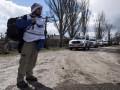 ОБСЕ: Сепаратисты проверяют машины миссии