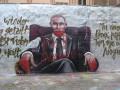 Немцы на граффити Путина написали