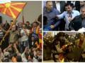 Кровь и летящие стулья: парламент Македонии взяли штурмом