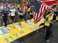 Марафонцы в Бостоне завершили прерванный забег