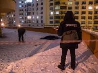 В Киеве с 24-го этажа выбросился мужчина