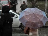 Погода на выходные: украинцев ждет похолодание и дождь с мокрым снегом