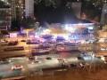 В Киеве фура влетела в остановку