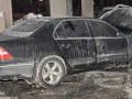 В Киеве сожгли Lexus адвоката, который вел дело против депутата облсовета