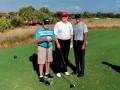 Трамп сыграл в гольф с Тайгером Вудсом