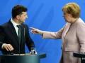 Появились детали разговора Зеленского с Меркель