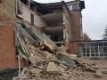 В Василькове обвалилась часть школы