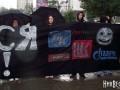 В Николаеве активисты призвали бойкотировать российские заправки