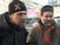 В столичный супермаркет,  где проводил рейд Азаров, не пустили двух бездомных