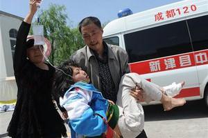 Город Яань с населением более миллиона расположен близко к очагу землетрясения