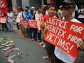 Пожар на обувной фабрике в Филиппинах: 72 жертвы