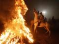 Фотогалерея: Огненные кони Пиреней. В Испании отпраздновали Ночь святого Антония