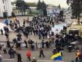 МВД: На вече возле Рады собрались 400 человек