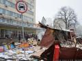 В Киеве снесли новую порцию МАФов