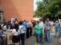 В Днепропетровске более 500 человек желают сдать кровь для раненых солдат