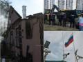 Итоги 27 сентября: последствия взрывов на складах под Винницей, стычки в Киеве и забор на границе с Крымом