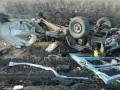 В штабе АТО назвали причину взрыва микроавтобуса в Марьинке