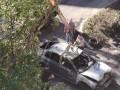 В Мариуполе взорвалась и дотла сгорела легковушка