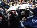 Протесты в Молдове: в Кишиневе протестующие захватывают здание парламента