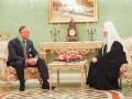 Додон заверил патриарха Кирилла: Церковь Молдовы останется под РПЦ