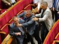 Депутаты Береза и Долженков подрались в Раде из-за Мураева