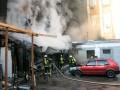 Масштабный пожар в центре Киева: Сгорели авто