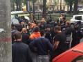 В центре столицы произошли стычки из-за кофе-машины